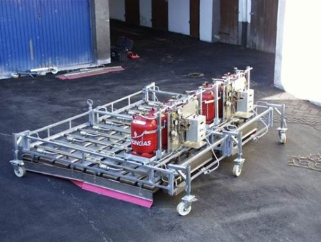asphalt heating device